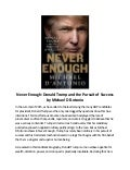 never enough donald trump and the pursuit of success pdf