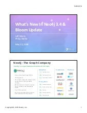 What's New In Neo4j 3.4 & Bloom Update