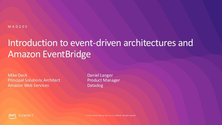 New Launch Introducti New Launch Introduction To Event Driven Ar