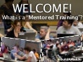 BuildAModule Mentored Training Slides