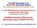 Free Automated Marketing System and Tools http://FreeAutomatedMarketing.RepStars.Biz  and  http://AutomatedMarketing.RepStars.Biz