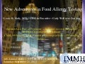 New Adventures in Food Allergy Testing!  09 21 2013