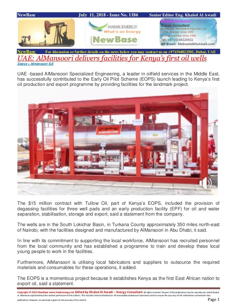 New base 1185 special 11 july 2018 energy news rev22