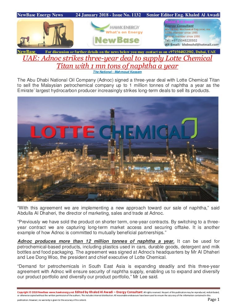 New base 24 january 2018 energy news issue 1132 by khaled al awadi