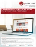 Product Brochure: Company Profiles of 10 Leading Online Payment Service Providers 2015