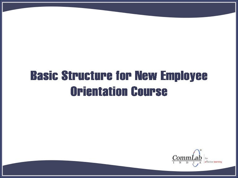 new hire orientation powerpoint presentation - gse.bookbinder.co, Modern powerpoint
