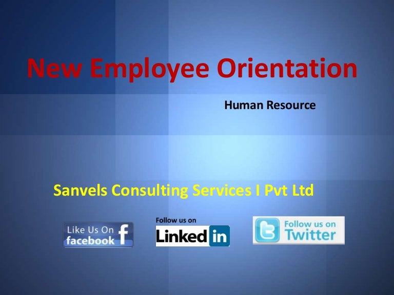 new employee orientation template