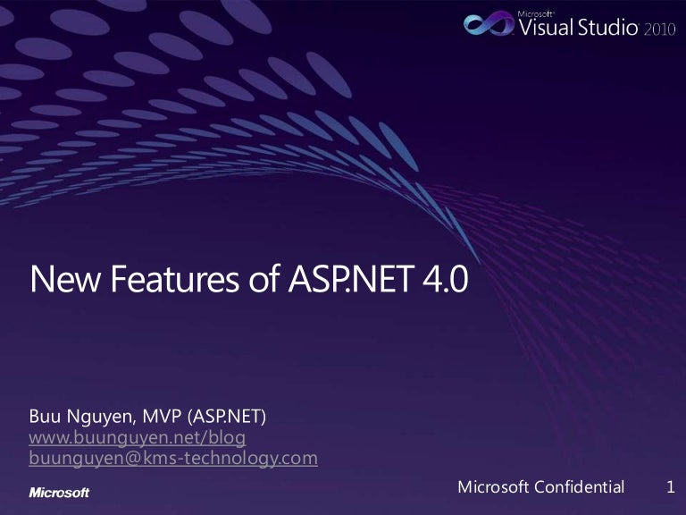 New Features of ASP NET 4 0