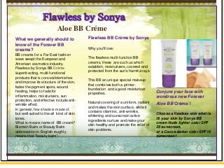 Natural BB Creme from Forever Living Products. How to Use Forever BB Cream ?