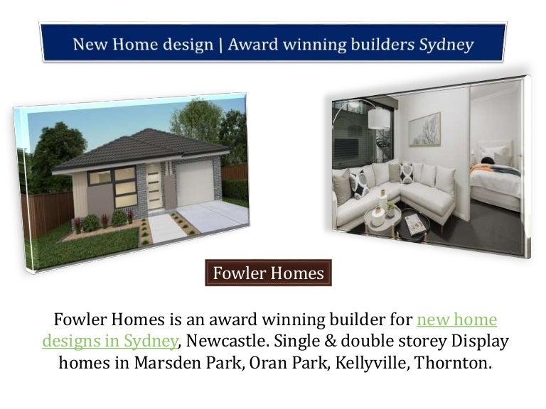 New Home Design Award Winning Builders Sydney