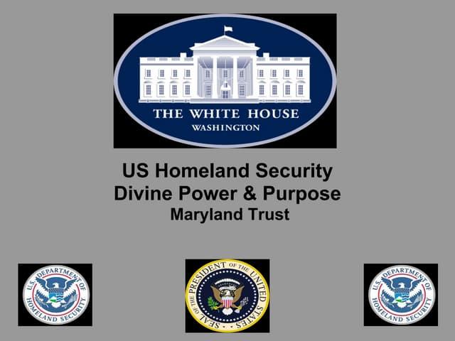 US Homeland Security Advisor - Unity of Purpose - Maryland Trust - FBI  Homeland Security Case