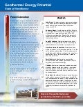 Geothermal Energy Potential - New Mexico