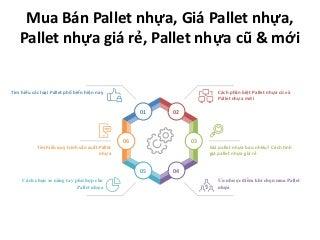 Mua Bán Pallet nhựa, Giá Pallet nhựa, Pallet nhựa giá rẻ, Pallet nhựa cũ & mới