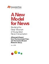 Studying the Deep Structure of Young-Adult News Consumption