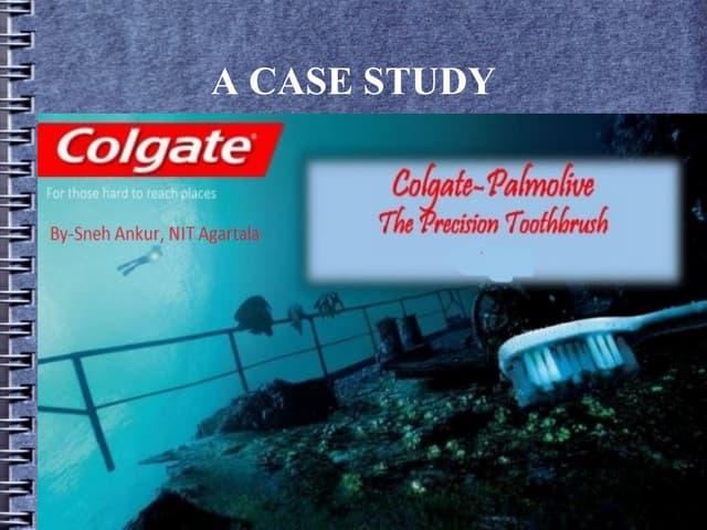 Colgate- Palmolive Company : The Precision Toothbrush