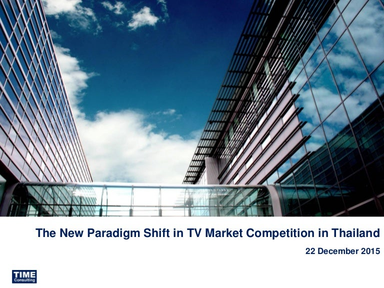 New Paradigm Shift in TVM Competition in Thailand