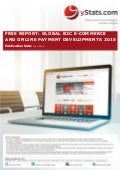 Product Brochure: Free Report - Global B2C E-Commerce and Online Payment Developments 2015