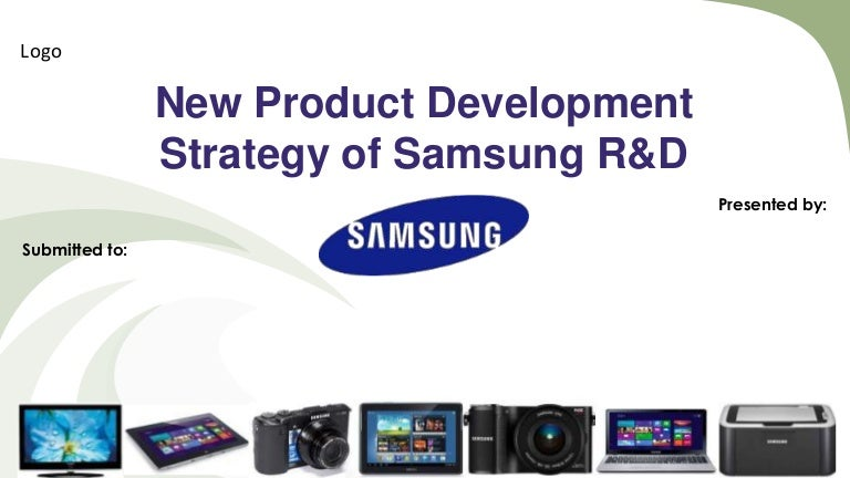 New product development strategy of Samsung RD
