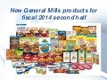 January 2014 - New products from General Mills