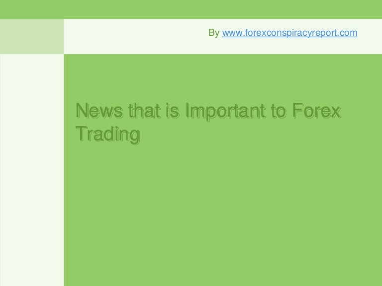 Which News Releases Should I Trade For Forex? - blogger.com