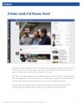 Facebook's News Feed
