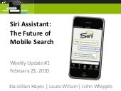 SIRI: Future of Search
