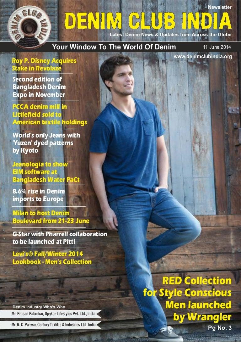 3f9f30b1 Denim Club Newsletter : Issue June 11, 2014