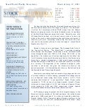 Phil's Stock World Newsletter - Week of July 17, 2011