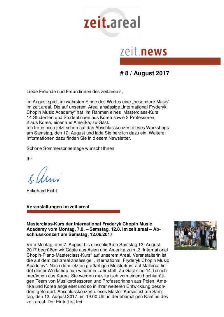 Newsletter 8 2017