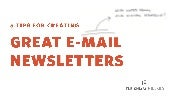 5 tips for creating great e-mail newsletters