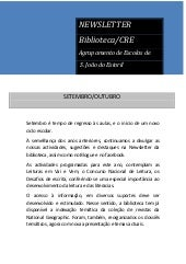 Newsletter set out 2011