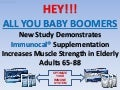 NEW STUDY:   Immunocal Increases Muscle Strength in Elderly Adults (65-88)