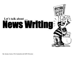 Would you be interested in reading or writing for this newspaper?