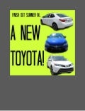 New Toyota deals for the rest of summer!