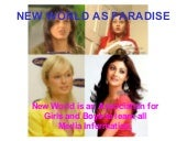 New world as paradise 1a