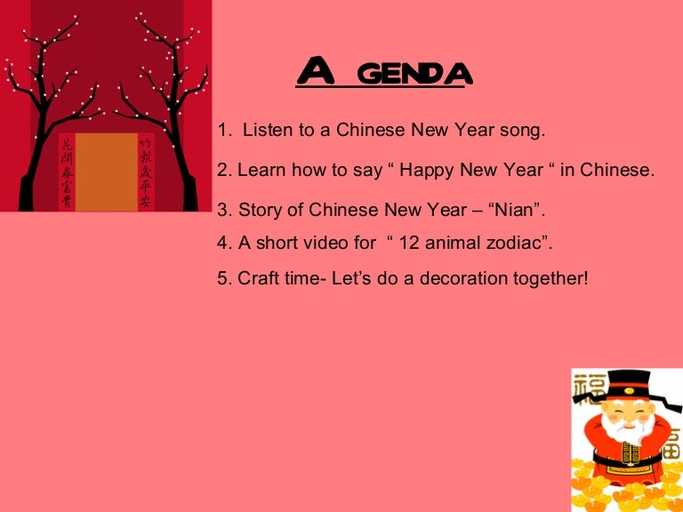 chinese new year - How Do You Say Happy New Year In Chinese