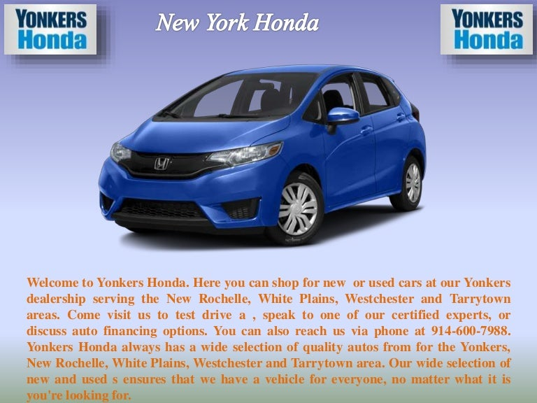 Yonkers Honda Service >> One Of The Best Honda Parts And Service