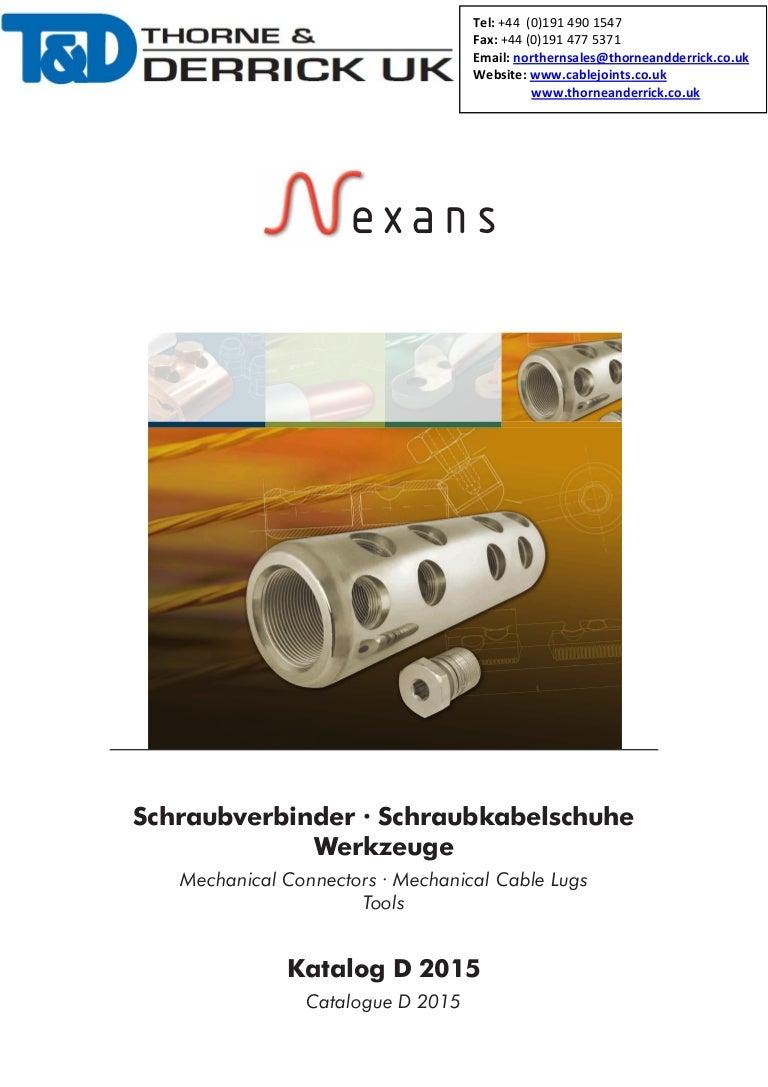 Nexans GPH 33kV High Voltage Cable Connectors & Lugs (800-1200sqmm)