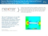 Nexter munitions reduces significantly cost and time of r&d developments with ptc mathcad