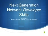 Next Generation Network Developer Skills