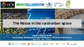 The Nexus in the rural-urban space