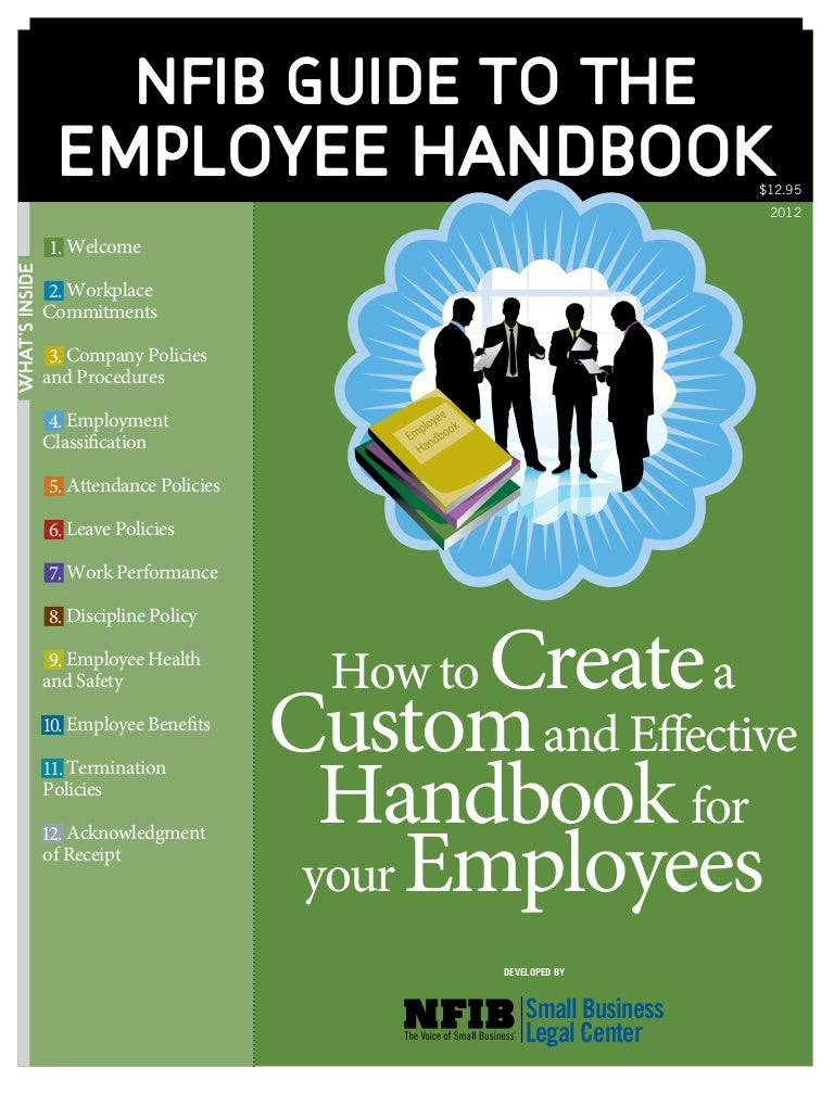 Nfib Guide To The Employee Handbook