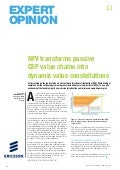 NFV transforms passive CSP value chains into dynamic value constellations