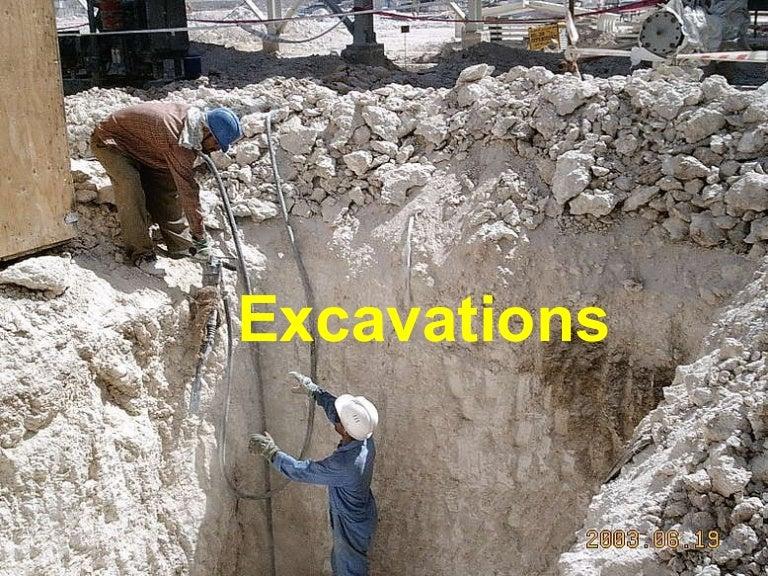 Ngi Excavation Hazards