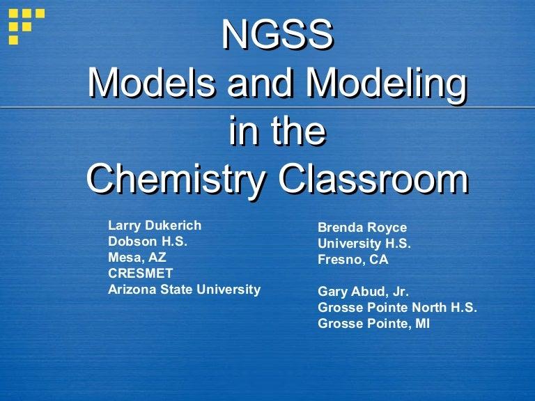 NGSS Chemistry Webinar