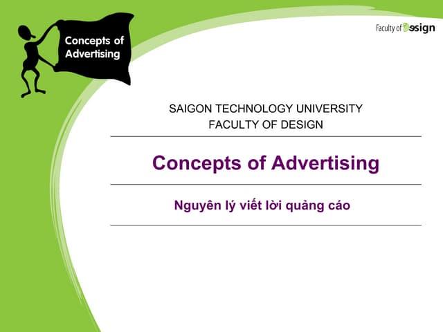 Những nguyên lý viết lời quảng cáo sáng tạo và hấp dẫn người xem