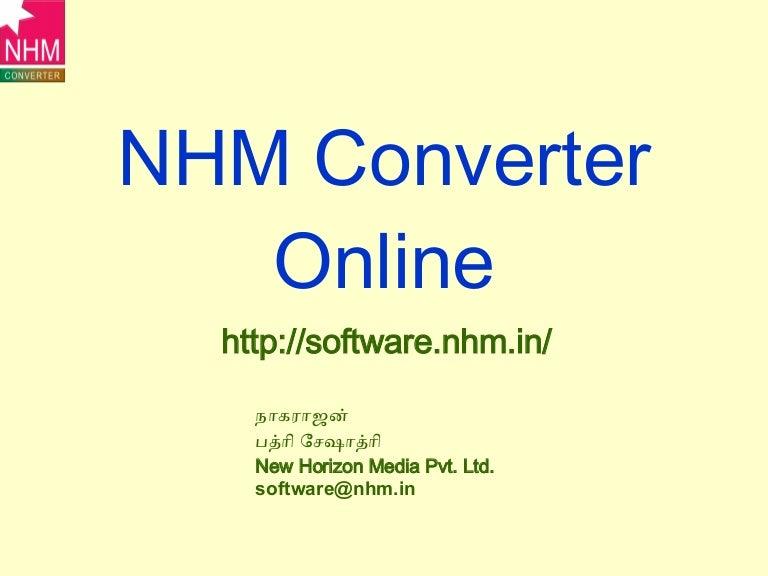 Tamil fonts converting nhm converter youtube.