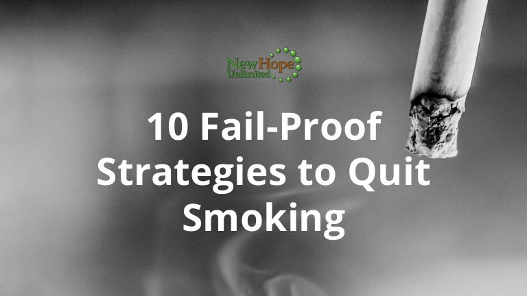 when can quit smoking fail