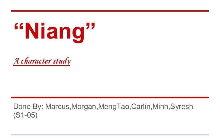 chinese cinderella essay niang