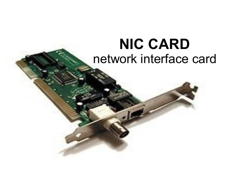 Nic Card Presentation By Asp